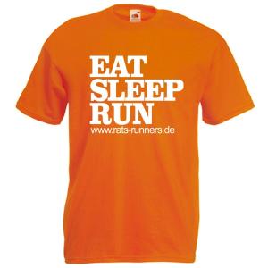 Eat sleep run Shirt, schnell was Essen kurz schlafen und dann wieder los