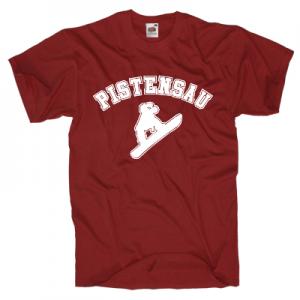 Pistensau T-Shirt Shirt online mit dem Shirtdesigner gestalten