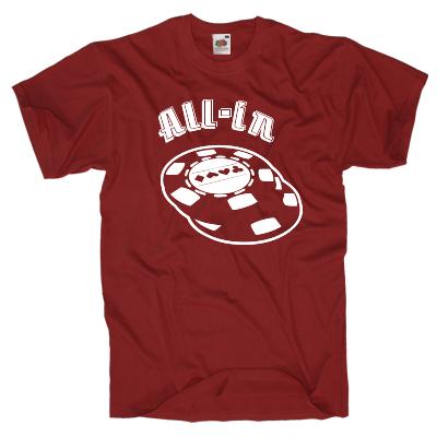 All-in Shirt online mit dem Shirtdesigner gestalten