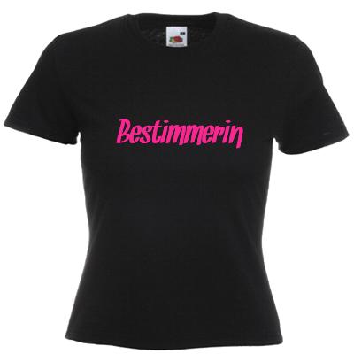 Bestimmerin T-Shirt gestalten, das Shirt der Chefin