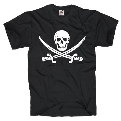 Der klassische Totenkopf T-Shirt Shirt online mit dem Shirtdesigner gestalten