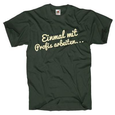 Einmal mit Profis arbeiten... Shirt online mit dem Shirtdesigner gestalten