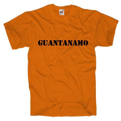 Guantanamo Shirt online mit dem Shirtdesigner gestalten