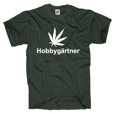 Hobbygärtner T-Shirt Shirt online mit dem Shirtdesigner gestalten