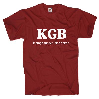 KGB Kerngesunder Biertrinker Shirt gestalten