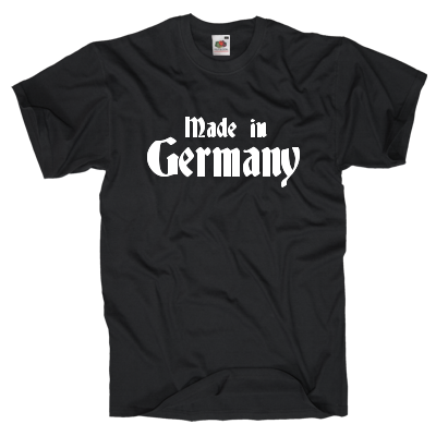 Made in Germany Shirt online mit dem Shirtdesigner gestalten