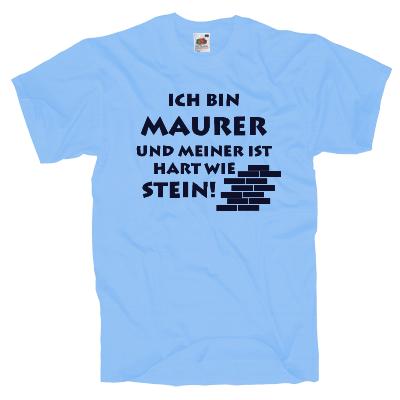 Maurer T-Shirt Shirt online mit dem Shirtdesigner gestalten