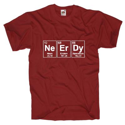 Neerdy Elements Shirt online mit dem Shirtdesigner gestalten
