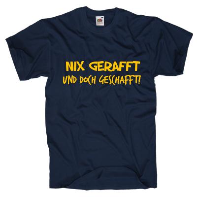 Nix gerafft und doch geschafft! Shirt gestalten