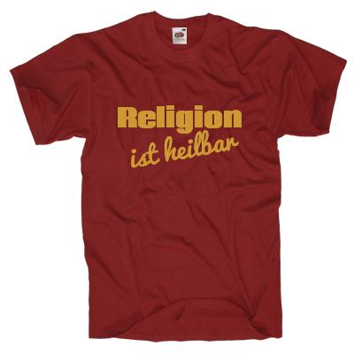 Religion ist heilbar Shirt gestalten