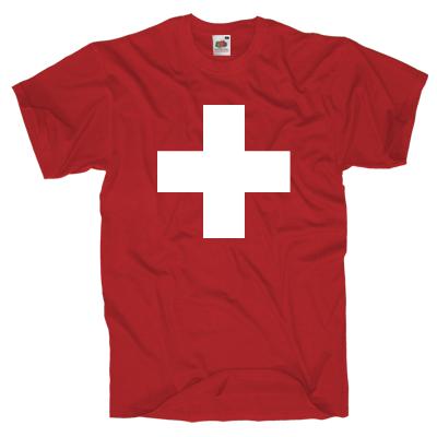 Schweiz T-Shirt Shirt online mit dem Shirtdesigner gestalten