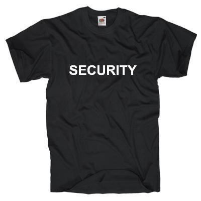 Security T-Shirt Shirt online mit dem Shirtdesigner gestalten