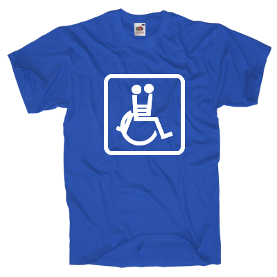 Sex im Rollstuhl T-Shirt Shirt online mit dem Shirtdesigner gestalten