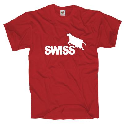 Swiss Kuh T-Shirt Shirt online mit dem Shirtdesigner gestalten