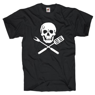 Totenkopf Grill Skull Shirt online mit dem Shirtdesigner gestalten