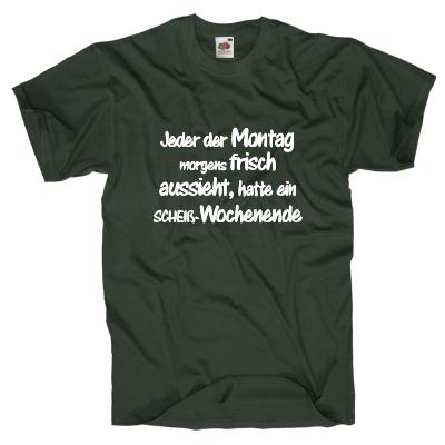 Wochenende T-Shirt Shirt online mit dem Shirtdesigner gestalten