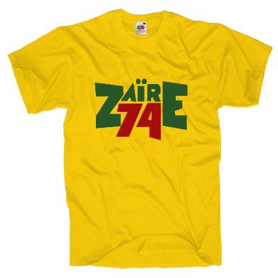 Zaire 74 T-Shirt Shirt online mit dem Shirtdesigner gestalten