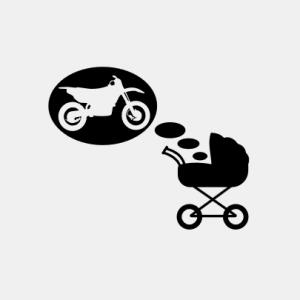 Baby träumt von Enduro T-Shirt bedrucken