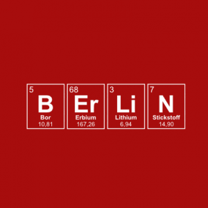 BERLIN Periodensystem T-Shirt bedrucken