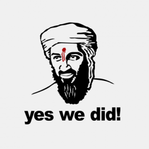 Binladen yes we did T-Shirt bedrucken