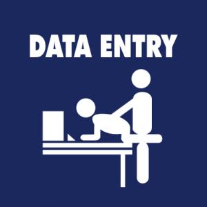 Data Entry T-Shirt bedrucken