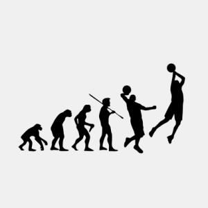 EVOLUTION Basketball T-Shirt bedrucken