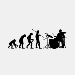 EVOLUTION Drummer T-Shirt bedrucken