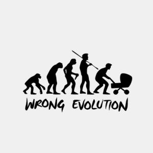 EVOLUTION Kinderwagen T-Shirt bedrucken