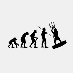 EVOLUTION Kiten T-Shirt bedrucken
