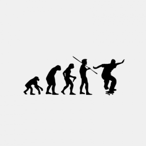 EVOLUTION Skate T-Shirt bedrucken