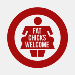 Fat Chicks Welcome T-Shirt bedrucken