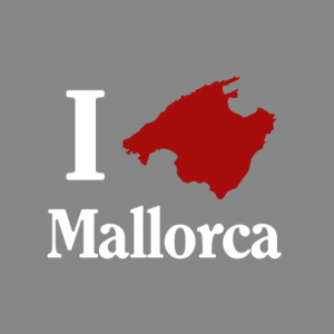 I love Mallorca T-Shirt bedrucken