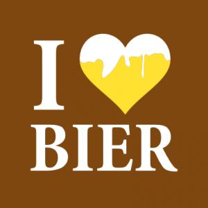Ich liebe Bier T-Shirt bedrucken