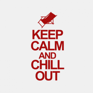 Keep calm and chill out T-Shirt bedrucken