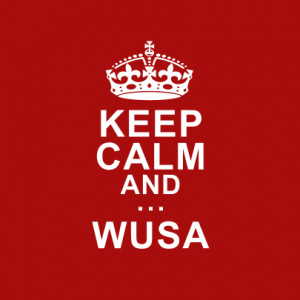 Keep Calm and WUSA T-Shirt bedrucken