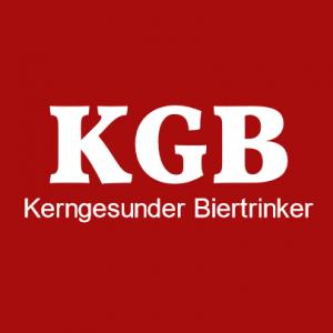 KGB Kerngesunder Biertrinker T-Shirt bedrucken