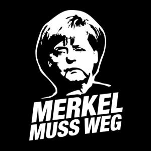 Merkel muss weg T-Shirt bedrucken