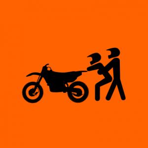 Motorrad Love T-Shirt bedrucken