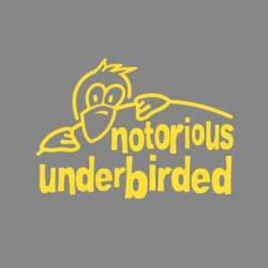 notorious underbirded T-Shirt bedrucken