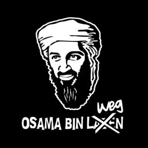 Osama bin weg T-Shirt bedrucken