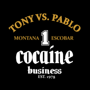 Tony vs.Pablo cocaine T-Shirt bedrucken