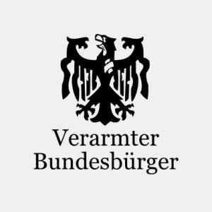 Verarmter Bundesbürger T-Shirt bedrucken
