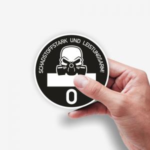 Schadstoffklasse Euro 0, die Feinstaubplakette für Dieselfahrer