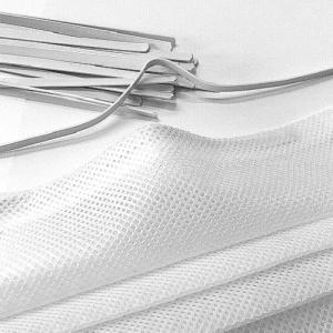 Metallbügel kunststoffummantelt weiß 160x4mm für Mundmasken