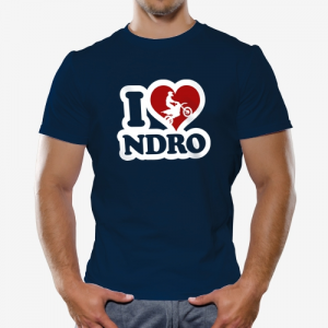 I love Enduro Shirt online mit dem Shirtdesigner gestalten