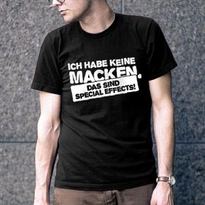 Ich habe keine Macken, das sind Specail Effects T-Shirt
