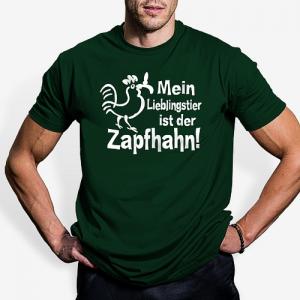 Mein Lieblingstier ist der Zapfhahn T-Shirt, Spaß an der Theke