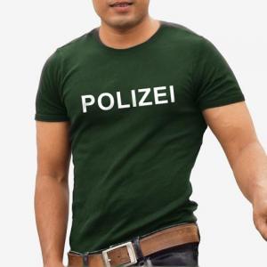 Polizei T-Shirt Shirt online mit dem Shirtdesigner gestalten