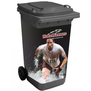 Rats-Runners Tonnencover für die individuelle Mülltonne daheim