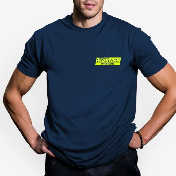 Feuerwehr T Shirt Druck